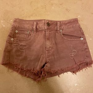 American Eagle mauve shorts